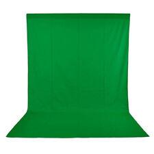Phot-R 1.6x3m Photo Studio Non-Woven Backdrop Background Green Screen Chroma Key