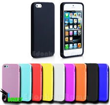 CUSTODIA CASE COVER PER IPHONE 5 5S SILICONE GEL TPU MORBIDA