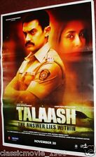 TALAASH (2012) AAMIR KHAN, KAREENA KAPOOR, RANI MUKERJI ORIGINAL INDIA POSTER #3