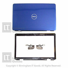 DELL INSPIRON PP41L 1545 1546 COVER LID BLUE GLOSSY + Bezel Cam Port + Hinges