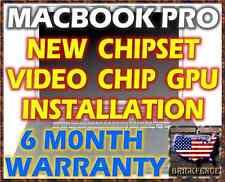 MACBOOK PRO 17 A1151 A1212 A1229 A1261 LAPTOP LOGIC BOARD NEW CHIPSET/GPU REPAIR