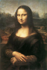 DaVinci Mona Lisa Home Decor Canvas Print A4 Size (210 x 297mm)