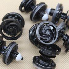 For VW Audi Door Trim Panel Retainer Fastener Clip w/ Sealer (Set of 10pcs)