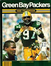 1989 Green Bay Packers Yearbook 30th Anniv. Issue LB Tim Harris EX+ Condition