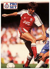 ALAN SMITH ARSENALE #235 Pro Set FOOTBALL 1991-2 TRADE card (C364)