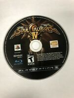 Soul Calibur IV (Sony PlayStation 3, PS3) Game Disc Only