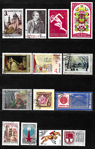 Russia & Soviet Union .. 2 Pages of beautiful postage stamps .. 5029