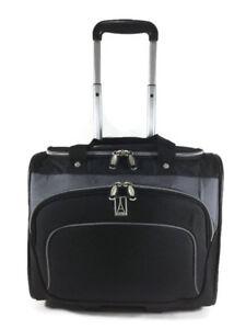 Travelpro Rolling Tote Black/Gray EUC