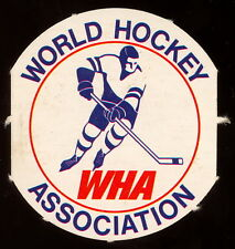 1972 73 OPC O PEE CHEE WHA HOCKEY World Association nm Team Logo Punched Emblem