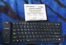 Scosche freeKEY Wireless Bluetooth Rollup Keyboard Black