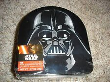 NEW Star Wars Darth Vader collector tin with Stormtrooper lollipops suckers