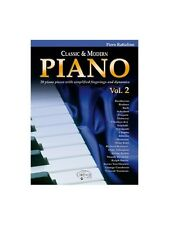 Classic & Modern Piano, Volume 2 Learn to Play Present Gift MUSIC BOOK Piano