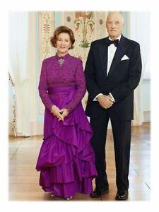 3 Postkarten Königin Sonja von Norwegen