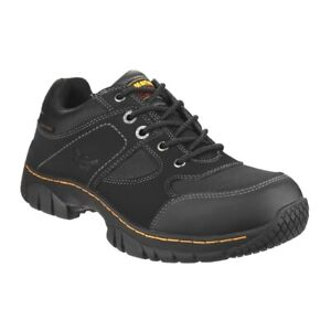 DR Martens Black Gunaldo ST Steel Toe Work Shoe MENS UK 7 EU 41 US 81