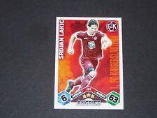LAKIC 1.FCK KAISERSLAUTERN TOPPS ATTAX PANINI FOOTBALL BUNDESLIGA 2010-2011