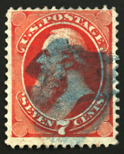 #149 7c Vermillion 1871 VF Used Ultra Cancel