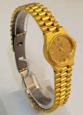 ENICAR OROLOGIO DONNA PLACCATO ORO NUOVO WATCH WOMAN GOLD PLATED NEW VINTAGE