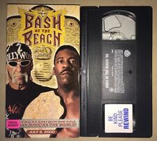 WCW Bash At The Beach 2000 (VHS, 2000) NWO NWA WWF WWE HULK HOGAN BOOKER T RARE