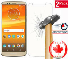 2X Pack Anit-Scratch Tempered Glass Guard Screen For Motorola Moto E5 Play