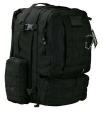 Kombat Army 60L Viking Patrol Tactical Assault Military Pack Bergan - Black