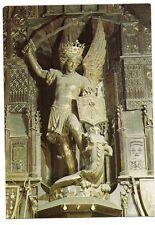 le mont-saint-michel  l'archange saint-michel église paroissiale