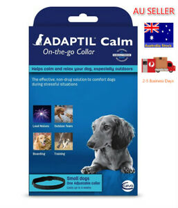 Adaptil Adjustable Calming Collar for Small & Medium Dogs fits neck 37cm &15.8kg
