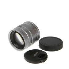 7artisans 55mm f/1.4 Manual Lens for Sony APS-C E-Mount, Silver {49} - (NW)