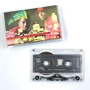 MC SHAN Born To Be Wild Cassette Tape 1988 Rap Hip-Hop Rare
