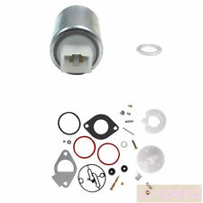 New Carburetor Fuel Solenoid Valve 699915 And Rebuild Kit For Briggs & Stratton