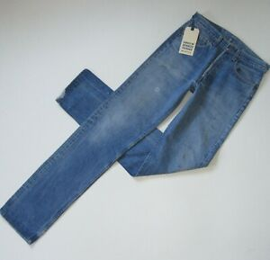 NWT Levi's Authorized Vintage 501 Straight Made in USA Reclaimed Jeans 32 x 36