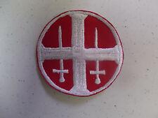 b8776 WW2 German Norway Quisling Gala Badge red