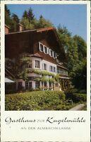 Ansichtskarte Gasthaus zur Kugelmühle an der Almbachklamm  (Nr.9103)