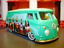 1960'S VW PANEL BUS LIMITED EDITION VOLKSWAGEN 1/64 JUSTICE LEAGUE CRUISER