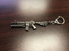 M16 Model Mini Weapon Weapon Gun Metal Keyring Keychain Key Ring Chain