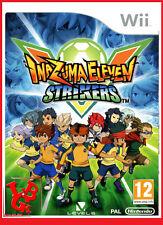 INAZUMA ELEVEN STRIKERS Wii Nintendo Jeux jeu Video compatible Wiiu Wii-U