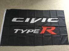HONDA MUGEN CIVIC Tipo R Vtec Garage Officina Flag Banner