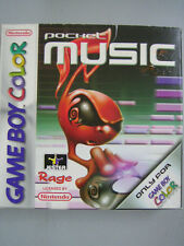 GAME BOY COLOR POCKET MUSIC NUOVO
