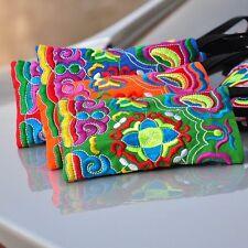 """""""Embroidery"""" Tasche Bestickt Handy Kosmetik Etui Beutel Hippi Ethno Stickerei"""