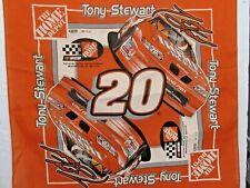 RARE NASCAR Tony Stewart #20 Home Depot Pontiac Grand Prix Bandanna/Handkerchief
