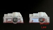 4 x led porte voiture amg logo projecteur flaque lumière pour mercedes pour A45 & e classe