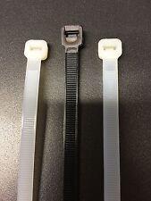 Fascette per cavi 200x3,6mm nero resistente ai raggi UV in Nylon Cavo Reggicalze 100 pezzi