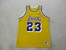 NEW VINTAGE Champion Lebron James Los Angeles Lakers Jersey Adult Extra Large