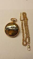 Triumph GT6 Mk3 ref262 pewter effect car emblem gold quartz pocket watch