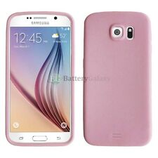 CLOSEOUT NEW Soft Slim Rubber Gel Case for  Android Phone Samsung Galaxy S6