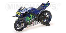MINICHAMPS 122 163046 YAMAHA YZR M1 model motor bike Valentino Rossi 2016 1:12