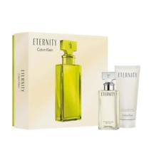 Calvin Klein Eternity For Her 2 Pieces Gift Set Hard Box Eau De Parfum Cologne