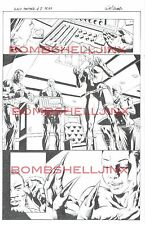 MARVEL BLACK PANTHER #8 PAGE 7 ORIGINAL ART BY WILL CONRAD