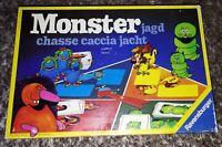 "MONSTER Jagd   / ancien jeu de société ""Ravensburger"" de 1977"