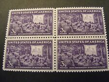 US Postage Stamps 1944 50th Anniversary of MOTION PICTURE 4- 3 Cent