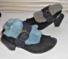 Arche France ~ Art to Wear ~ Black/Navy lLow Heel Sandal Pump Shoes 37